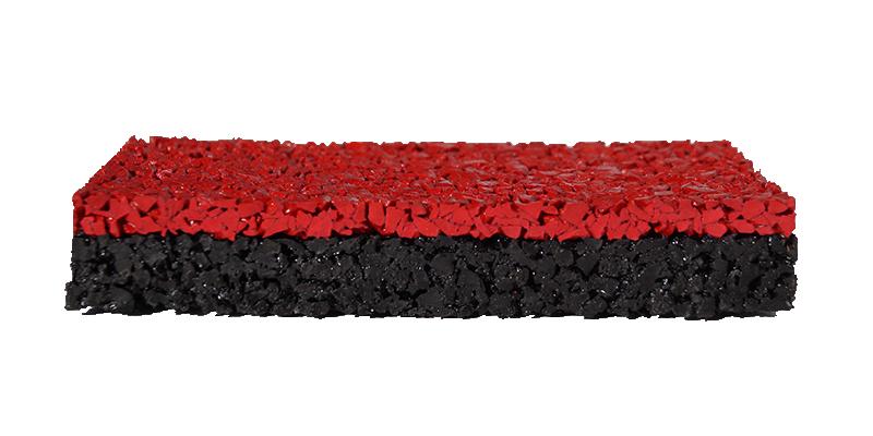 Цветное резиновое каучуковое покрытие Мастерфайбр- Сендвич Гумибо
