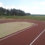 Спортивное покрытие из резиновой крошки