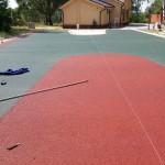 изготовление спортивного покрытия