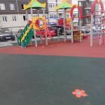 Общий вид детской игровой площадки в Рязани на Шевченко