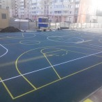Многофункциональная спорт площадка Мастерфайбр , Ново Пирогово