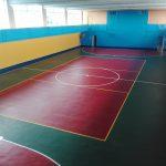 Покрытие в спорт зале Золотые купола