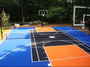 пол для баскетбола фото