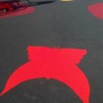 Резиновое покрытие для детской площадки с цветными изображениями
